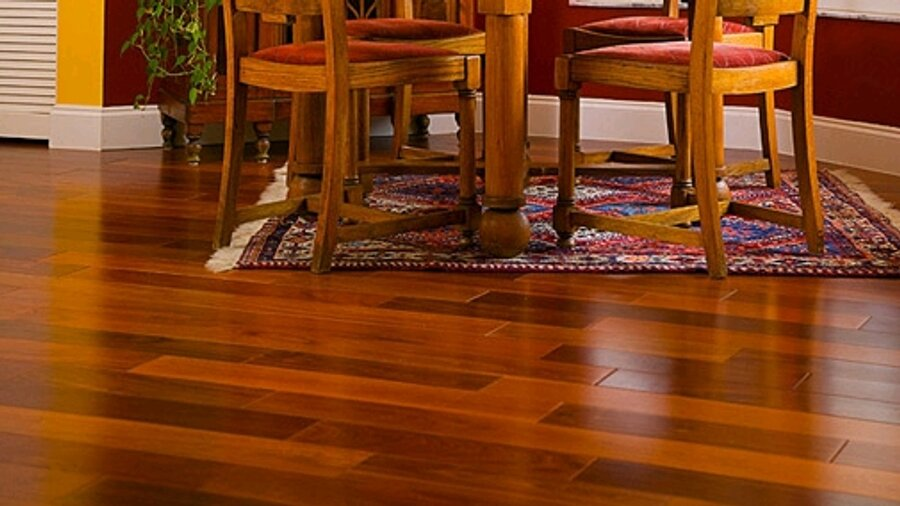 Hardwood floors in tallahassee florida and surrounding areas for Hardwood floors too shiny